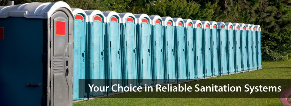 Your Choice in Reliable Sanitation Systems | Portable Toilets