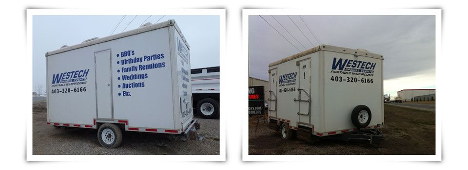 Westech Sanitation Systems Trailers